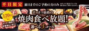 じゅうじゅうカルビ ぽっきり1